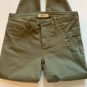 Cello Jeans - Ripped Army Green Pants